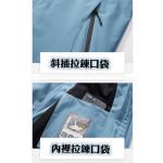 【時尚衝鋒衣一件3穿,防風防雨.禦寒外套】超值保暖非常適合台灣的天氣.超級推薦保暖時尚-秋冬最夯保暖外套